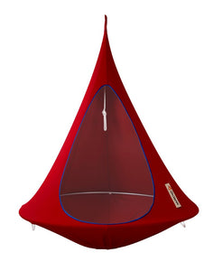 Red Single Cacoon Hammock by Vivere