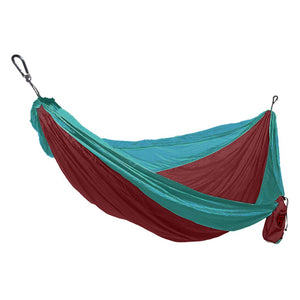 Nylon Double Camping Hammock with Tree Hanging Kit - Grand Trunk