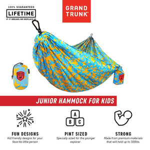 Junior Parachute Nylon Hammock - Grand Trunk