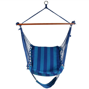 Sunnydaze Hammock Chair Swing with Footrest