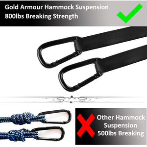 Double Hammock with Bug Net-Gold Armour
