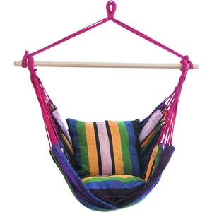 Large Brazilian Cotton Hanging Rope Swing Chair - NANANA