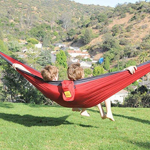 Wise Owl Outfitters Camping Hammock with Tree Straps
