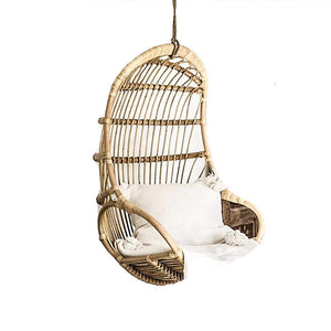Rattan Rope Hammock Lounge Swing Chair-XLOO