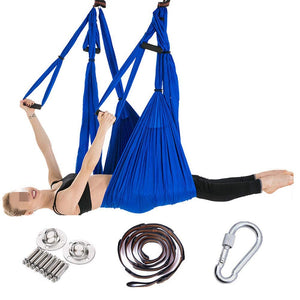 Gohbqany-SP Aerial Yoga Hammock with Stretch Belts