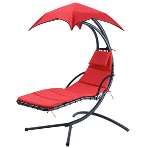 Chaise Lounge Chair with Arc Stand - Finether