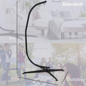 Hanging Hammock Chair Steel C Stand - Best Home Product