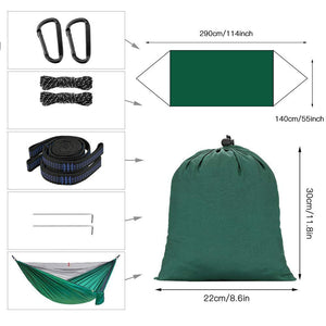 Camping Hammock with Mosquito Net - Camlinbo