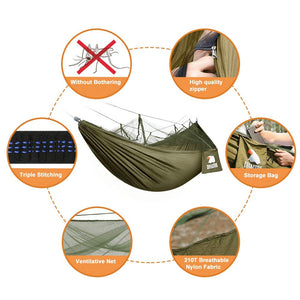 Camping Hammock with Net - Covacure