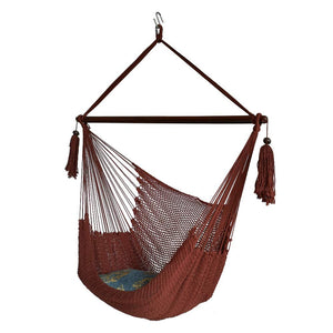 Cotton Rope Mayan Hanging Chair Swing Seat