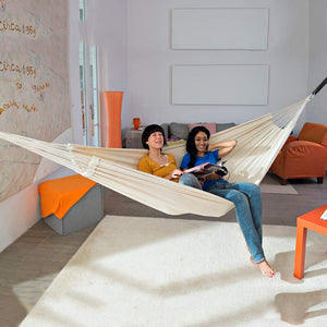 Single Cotton Outdoor Hammock - Anyoo