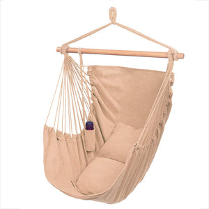 Large Hanging Rope Hammock Chair - ONCLOUD