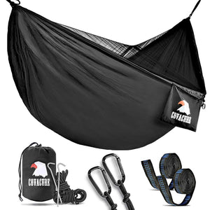 Black Camping Hammock - Covacure