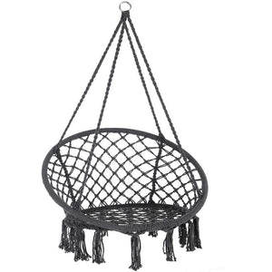 Swing Hanging Chair Cotton Rope - KXHW