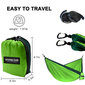 Single & Double Camping Hammock - VIVNCOD