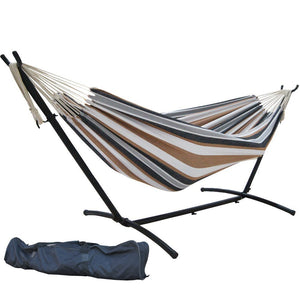 Double Hammock With Steel Stand - SueSport