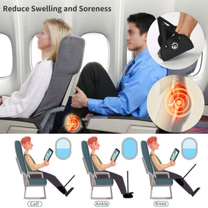 Foot Hammock for Airplane-Fareeceek Foot Rest