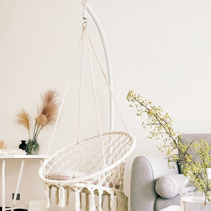 Hanging Macrame Hammock Swing Chair - CCTRO