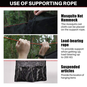 Light Hammock with mosquito net - ETROL