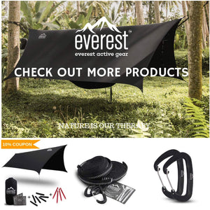 Everest Double Camping Hammock - everest active gear