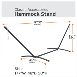 Steel Hammock Stand - Classic Accessories