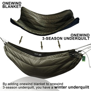 Underquilt for Hammock Camping - onewind