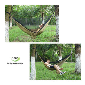 Double & Single Nylon Camping Hammock - Lvgowyd