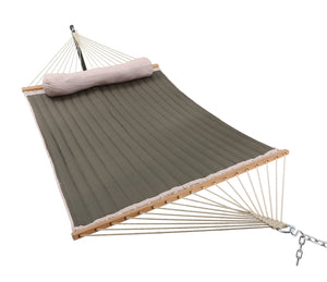 Fabric Hammock with Pillow - Patio Watcher