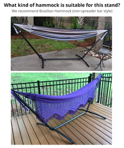 Hammock Stand Portable Heavy Duty Steel-VALLEYRAY