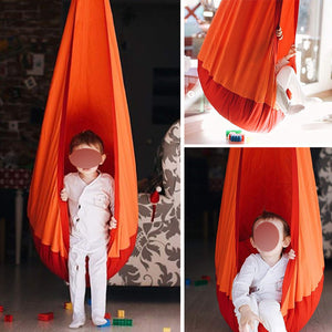I'll NEVER BE HER Kangaroo Child Hammock Pod Swing