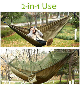 Camping Hammock with Mosquito Net - Sportneer