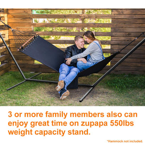 Zupapa Hammock Stand with 2 Steel Chains & 1 Carry Bag