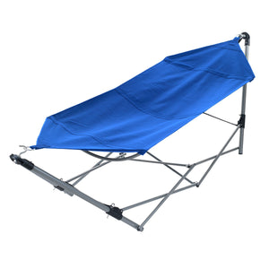 Hammock with Stand-Folds - Pure Garden
