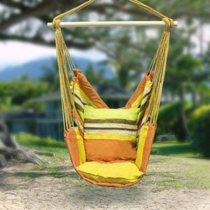 Hanging Rope Hammock Chair - Sorbus