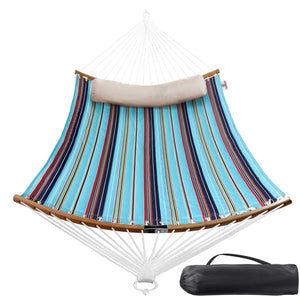 Double Hammock with Fold-able Bar & Detachable Pillow - Bathonly