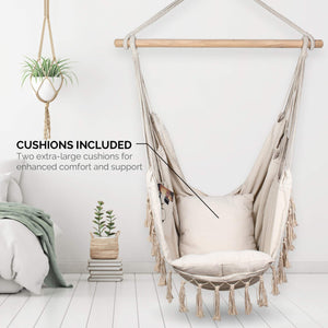 Swing Hammock Chair Hanging Rope - Komorebi