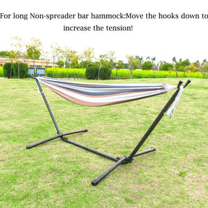 OnCloud Indoor & Outdoor Steel Hammock Stand
