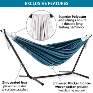 Double Cotton Hammock-Vivere