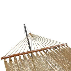 Double Polyester Rope Hammock with Spreader Bars - Project One