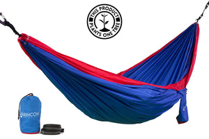 Red & Blue Hammock - Rincon Outdoor