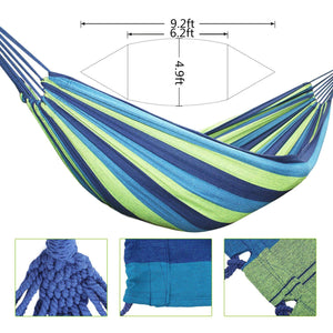 Brazilian Double Cotton Hammock Swing Bed - KEPEAK