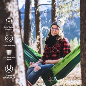 Hammock Camping with All The Installations - MIZTLI