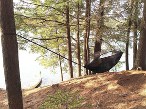 MARTIANS Camping Hammock with Mosquito Net