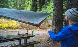 Abrigo Rain Fly and Shelter Hammock - Grand Trunk