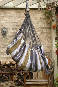 Hammock Black & White Chair - Vivere