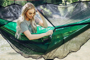 Exclusive Polyester Hammock Bug Net - Bear Butt