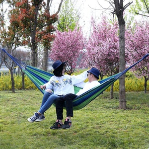 Cotton Hammock Swing Bed for Camping - SONGMICS