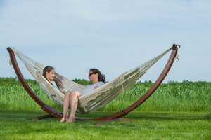 Solid Pine Wood Hammock Combo - Vivere