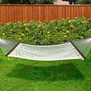 For 2-Person Woven Rope Hammock - Best Choice Products