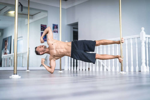 Pole dancing online course for men